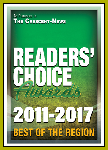 2011-2017 Readers' Choice Winner